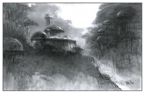 Concept D for View of Lost Civilization
