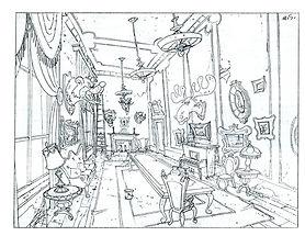 Disney's, Goof Troop_Int. Mansion Dining