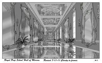 Royal Prep School Hall of Mirrors-Revise