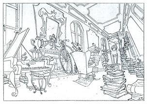 Disney's, Goof Troop_Grand Room Interior