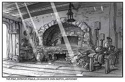 The Star-Interior Mill, Baker's Oven