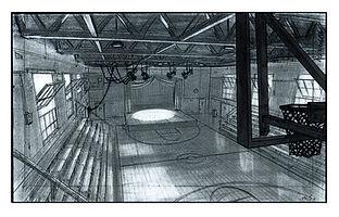 A Goofy Movie_Interior High School Gym D