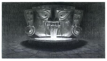 Disney's, Emperor's New Groove_Fountain