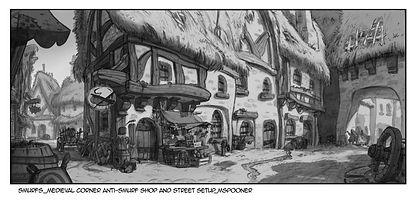 Smurfs_Anti-Smurf Shop Medieval Corner a