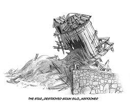 The Star-Bethlehem Grain Silo, Destroyed