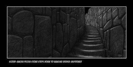 scoob_Machu Picchu Stone Steps down to H