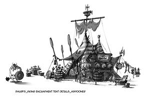Smurfs_Viking Encampment Tent Details 1_