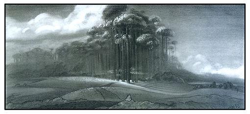 Dreamworks', SHREK_Forest Concept Design