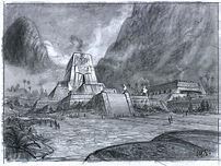 E.N.G.-Temple Concept Sketch, M.Spooner