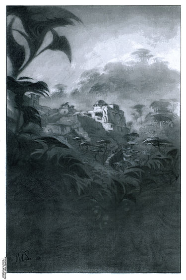 Concept B for View of Lost Civilization