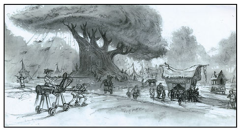 Dreamworks', SHREK_Country Fair Concept_