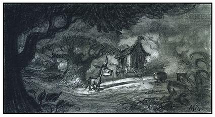 Dreamworks', SHREK_Donkey and Witch's Wa