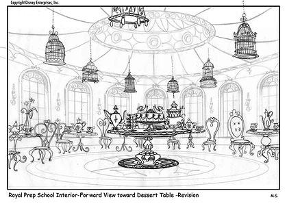 Int. Tea House - Forward View toward De