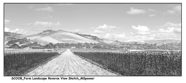 Farm Landscape Reverse View Sketch_MSpoo