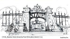 1-4-10_ Monster State University Front E