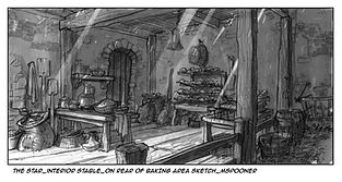 The Star-Interior Mill, Rear View of Baking Area