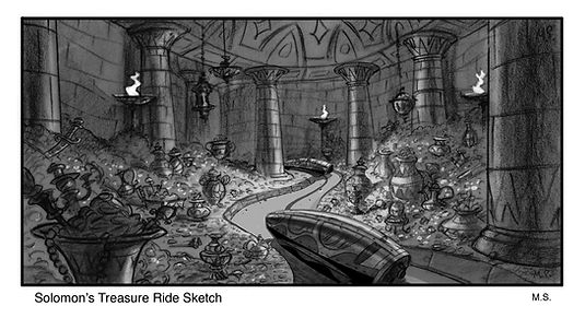 Solomon's Treasure Ride Setup sketch-Wit