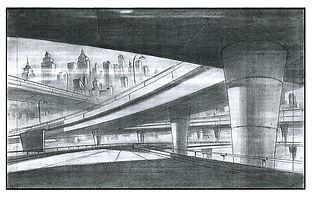 A Goofy Movie_Highway Overpass Concept D