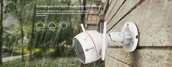 Ezviz IP - Camara para exteriores - 1080P WIFI - C3WN