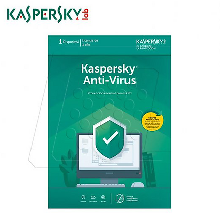 Kaspersky Anti-Virus - Licencia Base ESD - 3 PCs - 1 Año