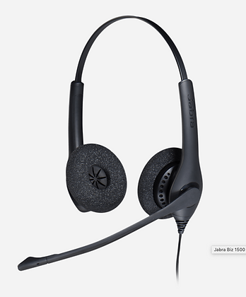 Jabra BIZ 1100 USB Duo - Auricular - en oreja