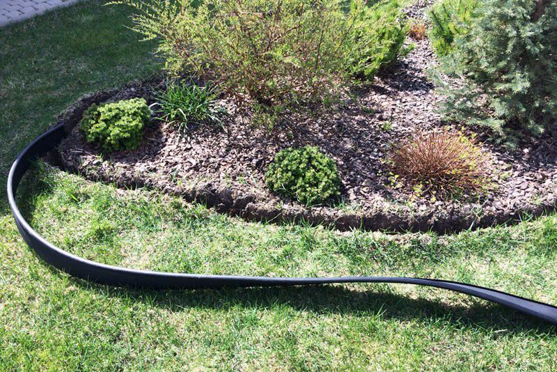 применение садового бордюра