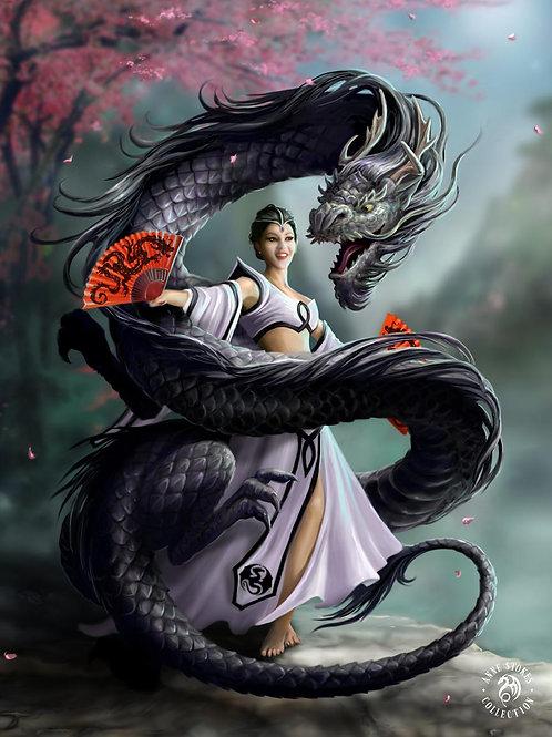 Dragon Dancer Postcard
