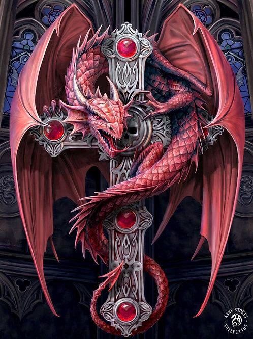 Gothic Guardian 3D Lenticular Print
