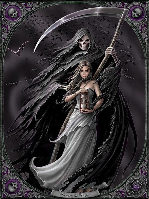 Summon The Reaper Postcard