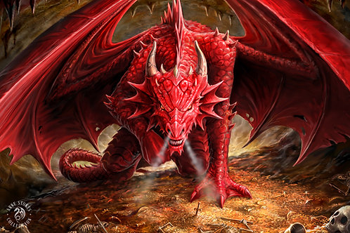 Dragons Lair 3D Lenticular Print