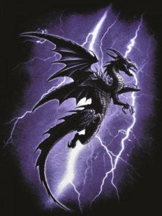 Lightning Dragon Postcard