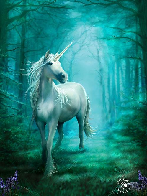 Forest Unicorn Postcard
