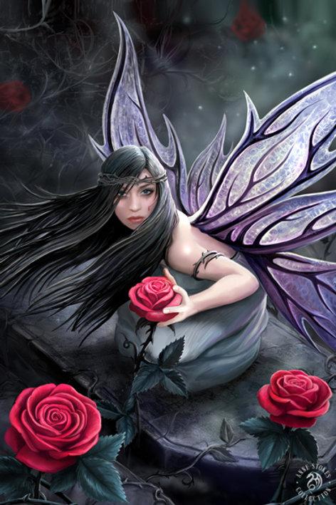 Rose Fairy 3D Lenticular Print