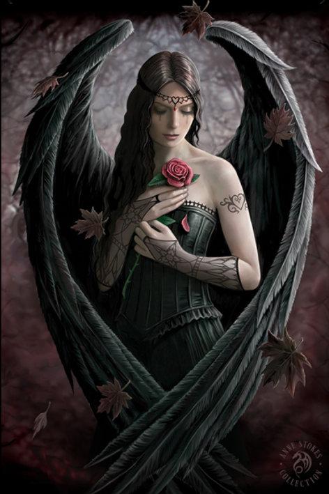Angel Rose 3D Lenticular Print