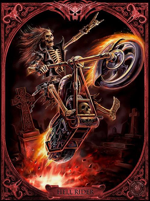 Hell Rider 3D Lenticular Print