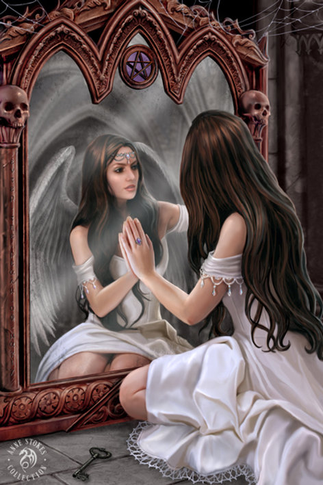 Magic Mirror 3D Lenticular Print