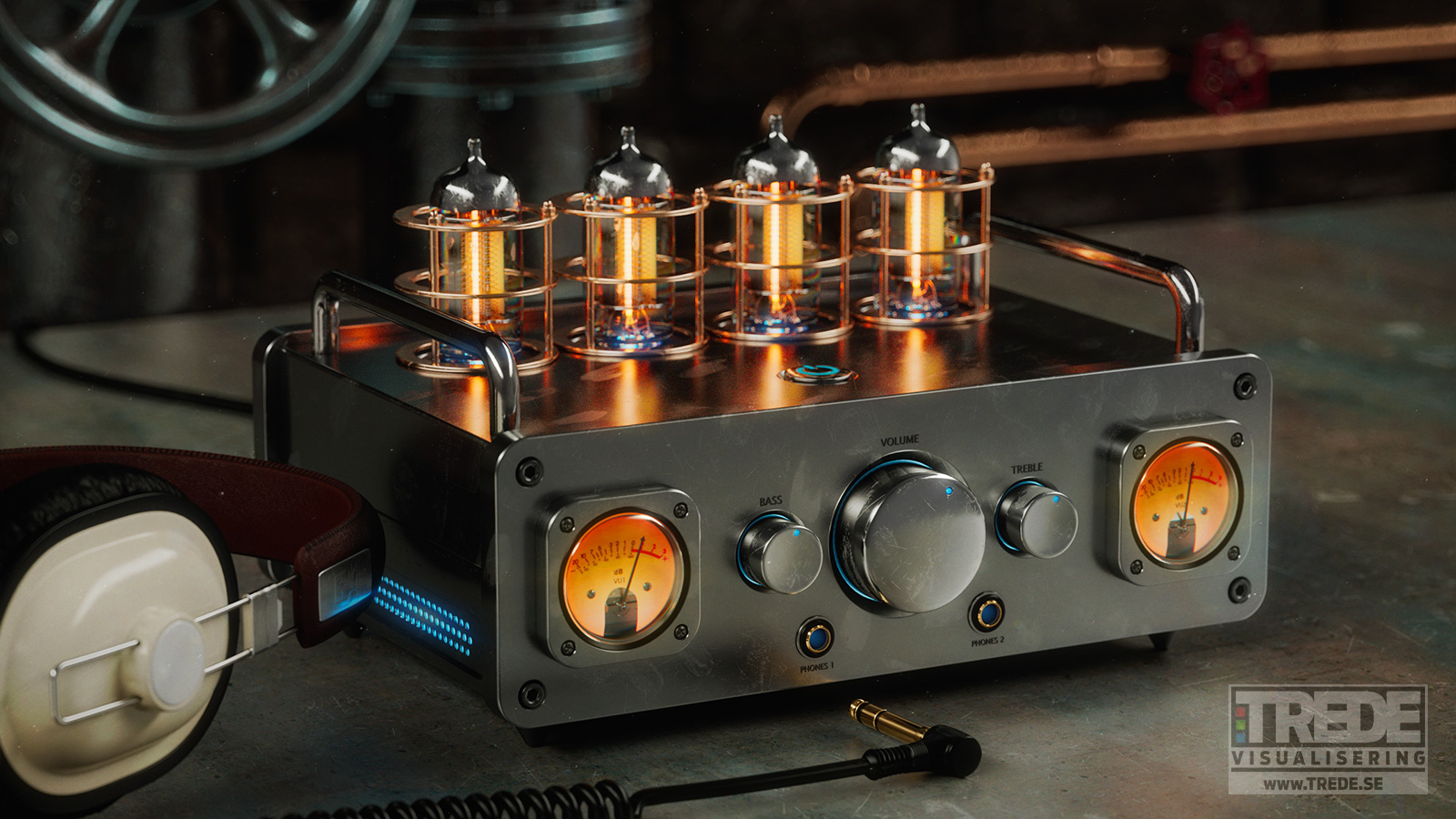 Vacuum Tube Amp - Design By Ulf Ekelöf