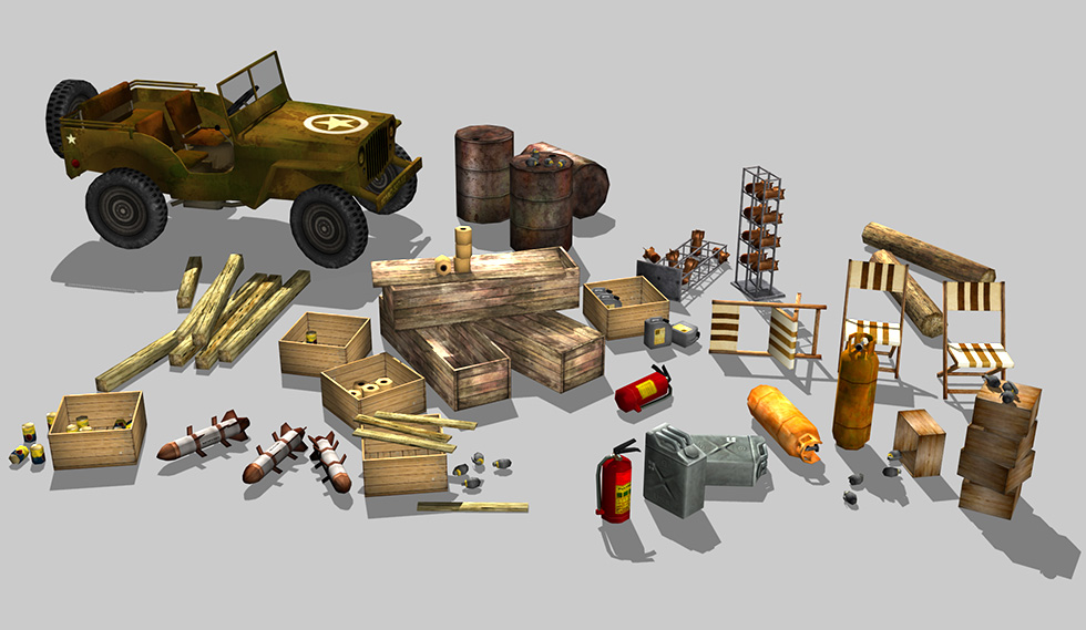 Military assets