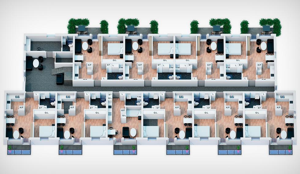Lägenhetsplan