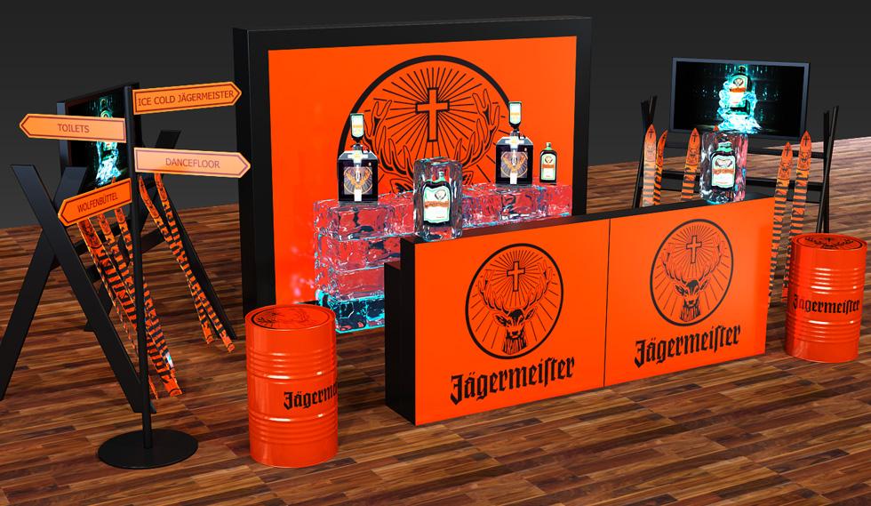 Jägermeister Stand