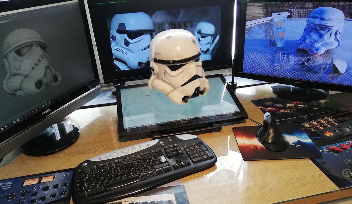 TREDE Storm Trooper 3D Print