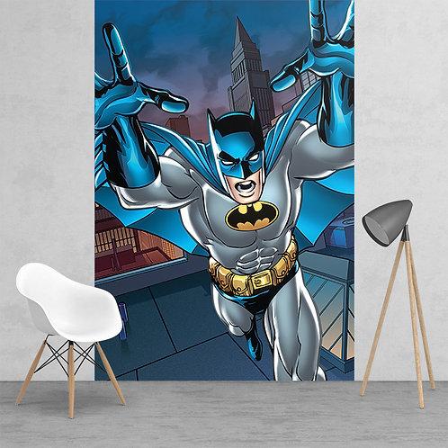 Action Batman Feature 2 Piece Wall Mural