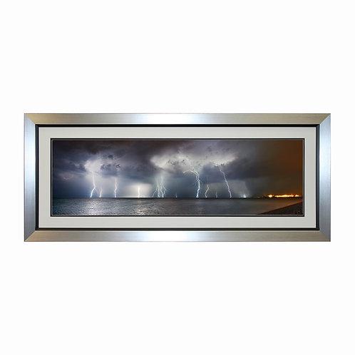 Lightening Framed Wall Art