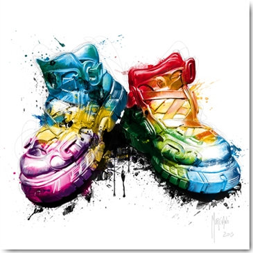 Patrice Murciano MY SHOES Framed Wall Art