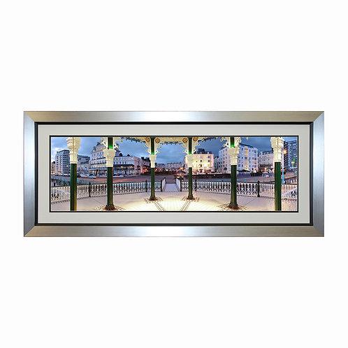 Seafront Bandstand Framed Wall Art