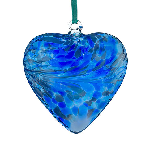 Friendship Hearts 8cm - Blue