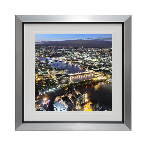 View from the Shard Framed Wall Art