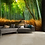 Thumbnail: Bamboo Footpath Feature 4 Piece Wall Mural