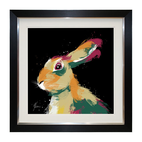 Hare Framed Wall Art