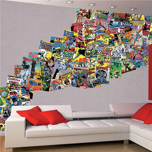 Comics 64 Piece Creative Collage